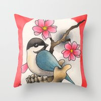 CHICKBONE Throw Pillow