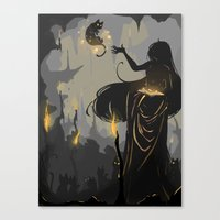 Familiar Canvas Print