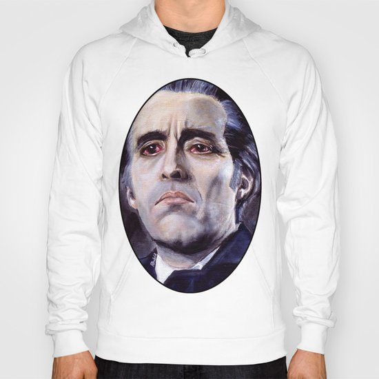 Christopher Lee as Dracula: He is the embodiment of all that is evil. Hoody