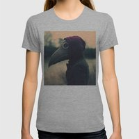 The Plague Womens Fitted Tee Athletic Grey SMALL