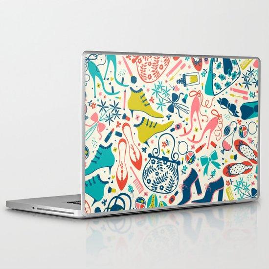 Heels and Handbags Laptop & iPad Skin