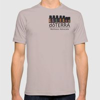 Essential oils holistic Mens Fitted Tee Cinder SMALL
