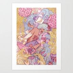 MASTER CONTROL Art Print