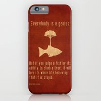 iPhone & iPod Case featuring Einstein #2 by Tracie Andrews