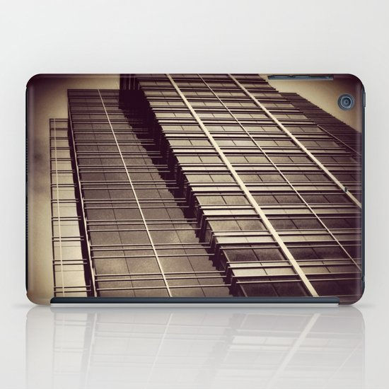 downtown building iPad Case