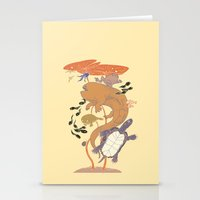 Pond Life Stationery Cards