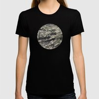 Planetary Bodies - Roots Womens Fitted Tee Black SMALL