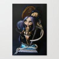 LADY BUCCANEER PIRATE OO… Canvas Print