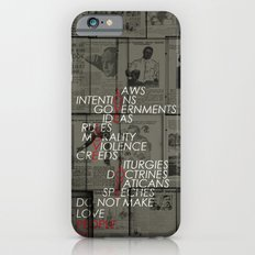 make love Slim Case iPhone 6s