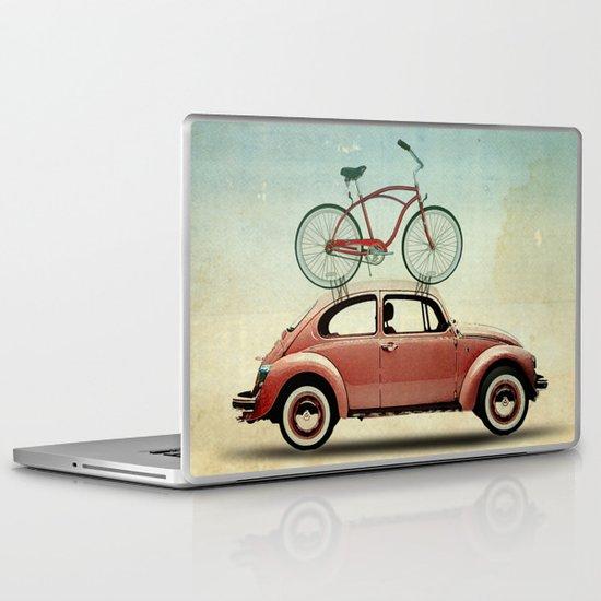 VW bike rack Laptop & iPad Skin