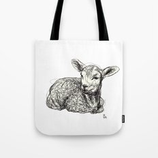 Baby Animals - Lamb Tote Bag