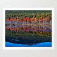 Mount Monadnock Reflecti… Art Print