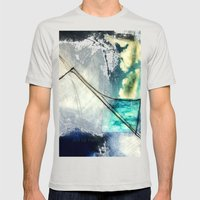 Forward Trajectory Mens Fitted Tee Silver SMALL