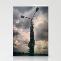 Light Post Stationery Cards