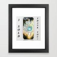 Geode Fairyland TU Framed Art Print