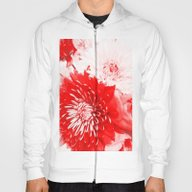 Bouquet In Red, White An… Hoody