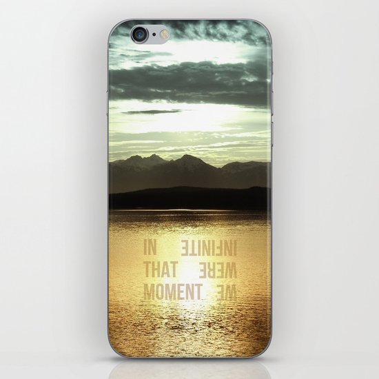In that Moment, We were Infinite iPhone & iPod Skin