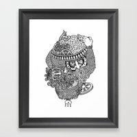 atlante Framed Art Print