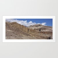 Himalayan High Desert Art Print