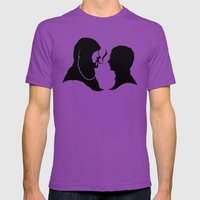 The Dog Next Door Mens Fitted Tee Ultraviolet SMALL