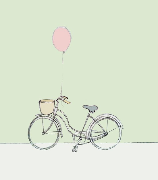 Bike. Art Print