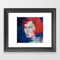 Prodigal- Red For Print Framed Art Print