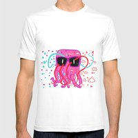 Candy Flip Mens Fitted Tee White SMALL