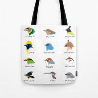 Montane Birds Series 1 Tote Bag