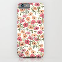 iPhone & iPod Case featuring Garden Print by Bouffants and Broken Hearts