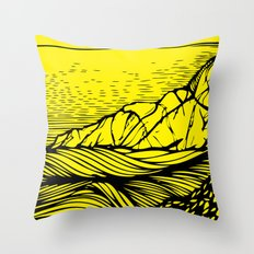 The Island Throw Pillow