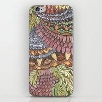 Quilted Forest: The Owl iPhone & iPod Skin