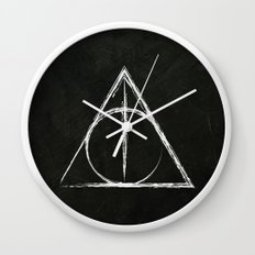 Deathly Hallows (Harry Potter) Wall Clock