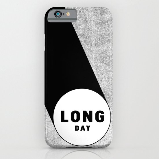 Long Day. iPhone & iPod Case