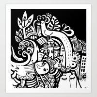 Puisto Art Print