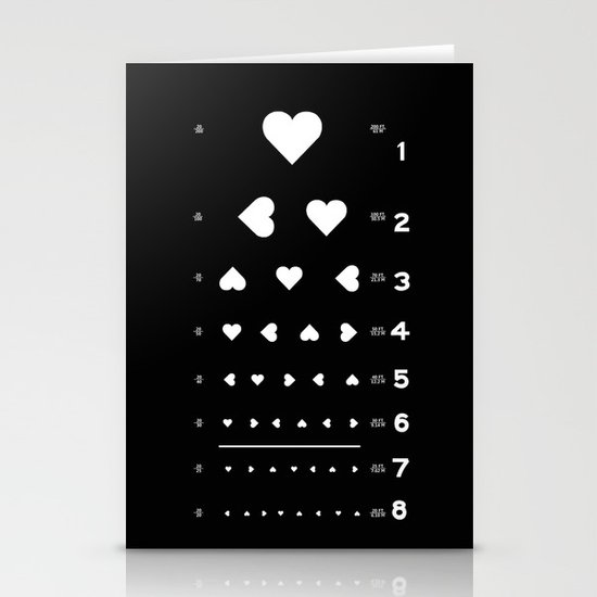 Can you see the love? Stationery Card