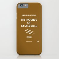 iPhone & iPod Case featuring BBC Sherlock The Hounds of Baskerville Minimalist Poster by ofalexandra