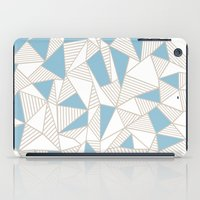Ab Nude Lines With Blue … iPad Case