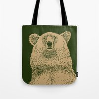 Kodiak Bear Tote Bag