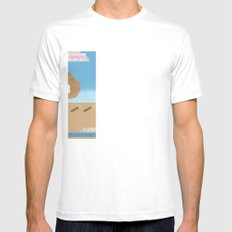 In The Wind SMALL White Mens Fitted Tee