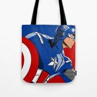 Captain 'merica Tote Bag
