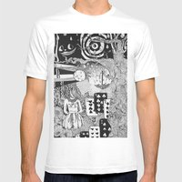 Alice's Dreams Mens Fitted Tee White SMALL