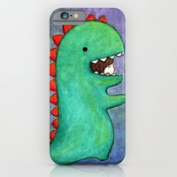 Dino Girl iPhone 6 Slim Case
