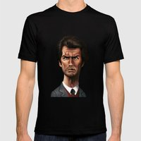 Dirty Harry Mens Fitted Tee Black SMALL