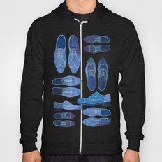 Blue Brogue Shoes Hoody