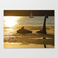 Hoax? I Think Not Canvas Print