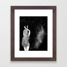 asc 604 - L'invocation à Vénus (Venus under the sky) Framed Art Print