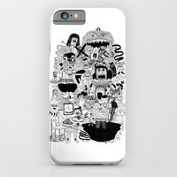 iPhone & iPod Case featuring KIDS DOOM by WASTED RITA