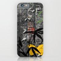 Yellow butterflies iPhone 6 Slim Case