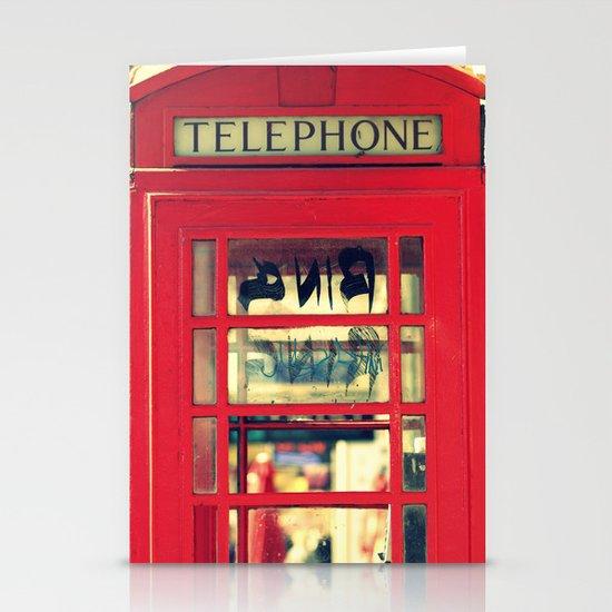 Telephone Stationery Card