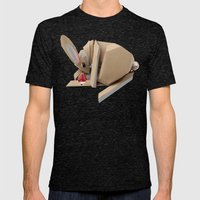 Unlucky Rabbits Foot Mens Fitted Tee Tri-Black SMALL